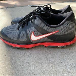 Nike Mens Hyperfuse Lunarlon Spikeless Golf Shoes
